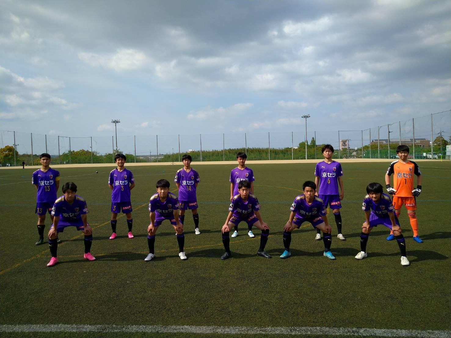 【U-15】クラブユース選手権U-15滋賀県大会予選リーグ第2節