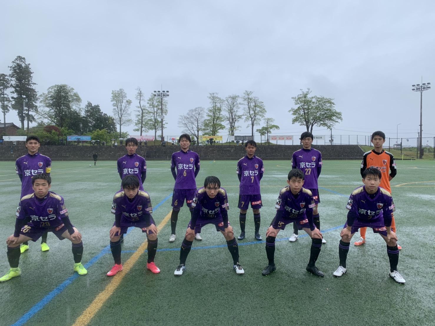 【U-15】クラブユース選手権U-15滋賀県大会予選リーグ第4節